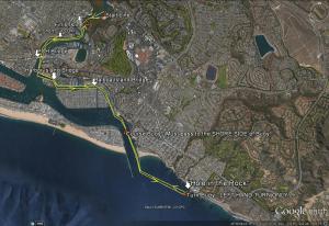 NAC 2019 Race Route