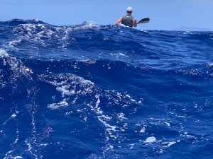 Molokai surfing