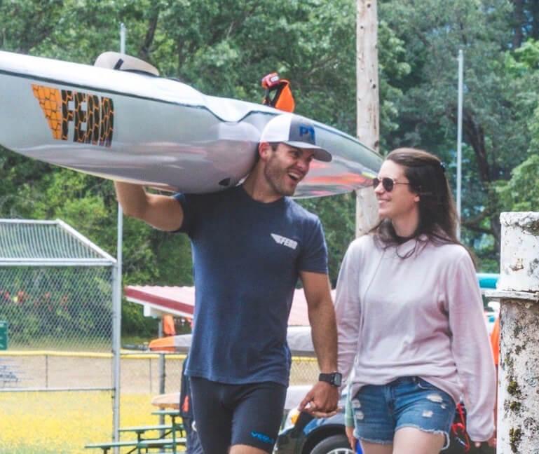 Austin Kieffer & Wife