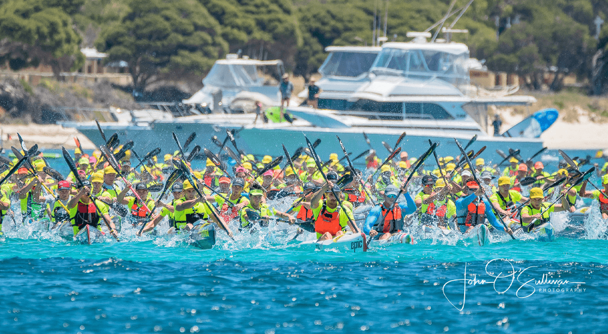 surf ski race start fall 2019